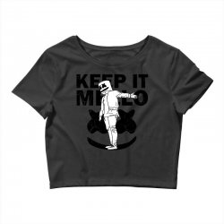 funny style keep it marshmello Crop Top | Artistshot