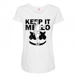 funny style keep it marshmello Maternity Scoop Neck T-shirt | Artistshot
