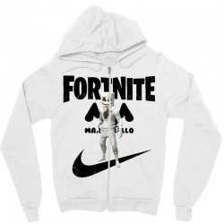 fortnite   marshmello  just play it Zipper Hoodie | Artistshot