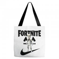 fortnite   marshmello  just play it Tote Bags | Artistshot