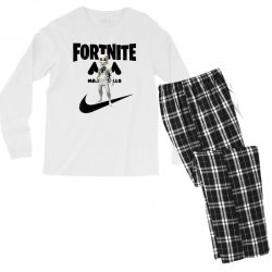 fortnite   marshmello  just play it Men's Long Sleeve Pajama Set | Artistshot