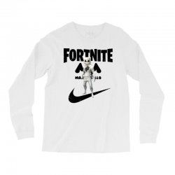 fortnite   marshmello  just play it Long Sleeve Shirts | Artistshot