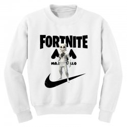 fortnite   marshmello  just play it Youth Sweatshirt | Artistshot