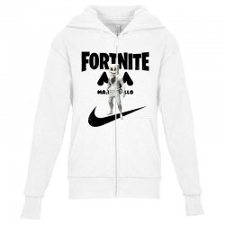 fortnite   marshmello  just play it Youth Zipper Hoodie | Artistshot