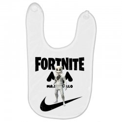 fortnite   marshmello  just play it Baby Bibs | Artistshot