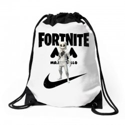 fortnite   marshmello  just play it Drawstring Bags | Artistshot