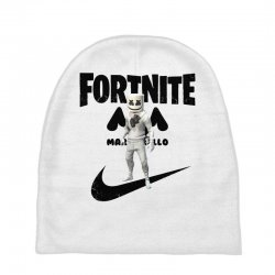 fortnite   marshmello  just play it Baby Beanies | Artistshot