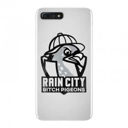 rain city bitch pigeons   black art iPhone 7 Plus Case | Artistshot