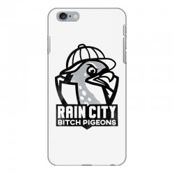rain city bitch pigeons   black art iPhone 6 Plus/6s Plus Case | Artistshot