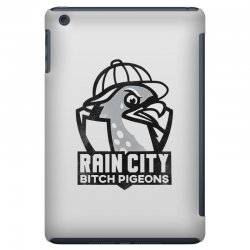 rain city bitch pigeons   black art iPad Mini Case | Artistshot