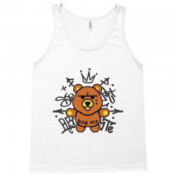 gangsta bear Tank Top | Artistshot
