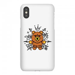 gangsta bear iPhoneX Case | Artistshot