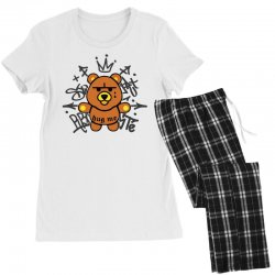 gangsta bear Women's Pajamas Set | Artistshot