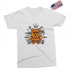 gangsta bear Exclusive T-shirt | Artistshot
