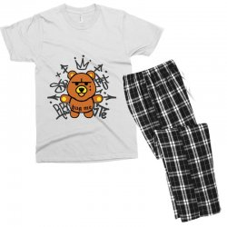 gangsta bear Men's T-shirt Pajama Set | Artistshot