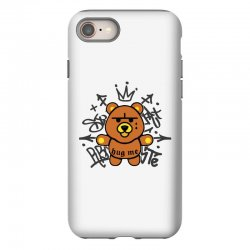 gangsta bear iPhone 8 Case | Artistshot