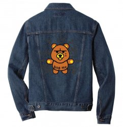 gangsta bear Men Denim Jacket | Artistshot