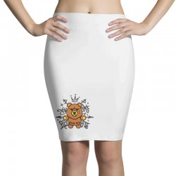 gangsta bear Pencil Skirts | Artistshot