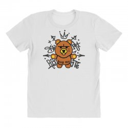 gangsta bear All Over Women's T-shirt | Artistshot