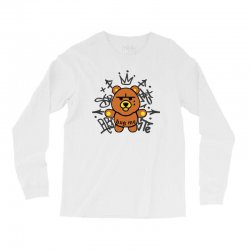 gangsta bear Long Sleeve Shirts | Artistshot