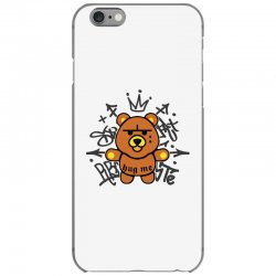 gangsta bear iPhone 6/6s Case | Artistshot