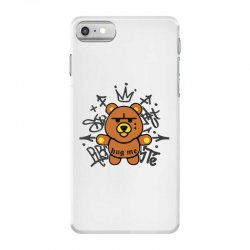 gangsta bear iPhone 7 Case | Artistshot