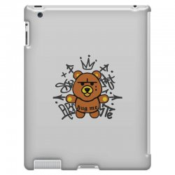 gangsta bear iPad 3 and 4 Case | Artistshot