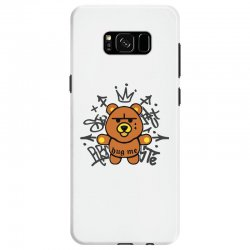 gangsta bear Samsung Galaxy S8 Case | Artistshot