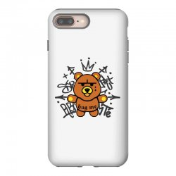 gangsta bear iPhone 8 Plus Case | Artistshot