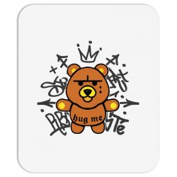 gangsta bear Mousepad | Artistshot