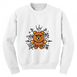 gangsta bear Youth Sweatshirt | Artistshot