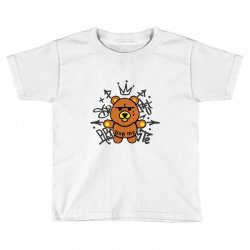 gangsta bear Toddler T-shirt | Artistshot