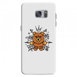gangsta bear Samsung Galaxy S7 Case | Artistshot