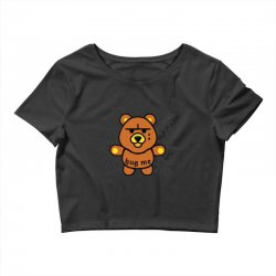 gangsta bear Crop Top | Artistshot