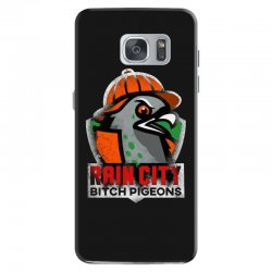 rain city   bitch pigeons Samsung Galaxy S7 Case | Artistshot