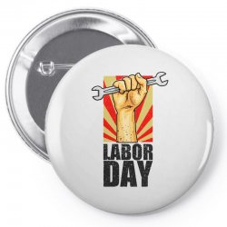 labor day Pin-back button | Artistshot