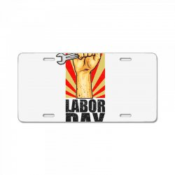labor day License Plate | Artistshot