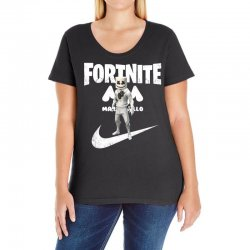 fortnite     just play it Ladies Curvy T-Shirt | Artistshot