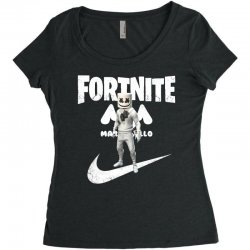 fortnite     just play it Women's Triblend Scoop T-shirt | Artistshot