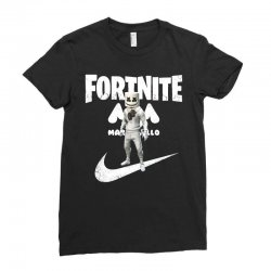 fortnite     just play it Ladies Fitted T-Shirt | Artistshot