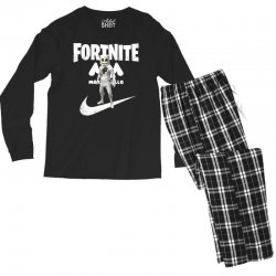 fortnite     just play it Men's Long Sleeve Pajama Set | Artistshot