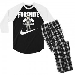 fortnite     just play it Men's 3/4 Sleeve Pajama Set | Artistshot