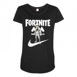 fortnite     just play it Maternity Scoop Neck T-shirt | Artistshot