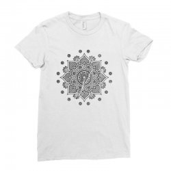 mandala Ladies Fitted T-Shirt | Artistshot