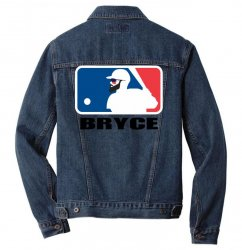 bryce harper Men Denim Jacket | Artistshot