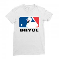 bryce harper Ladies Fitted T-Shirt | Artistshot