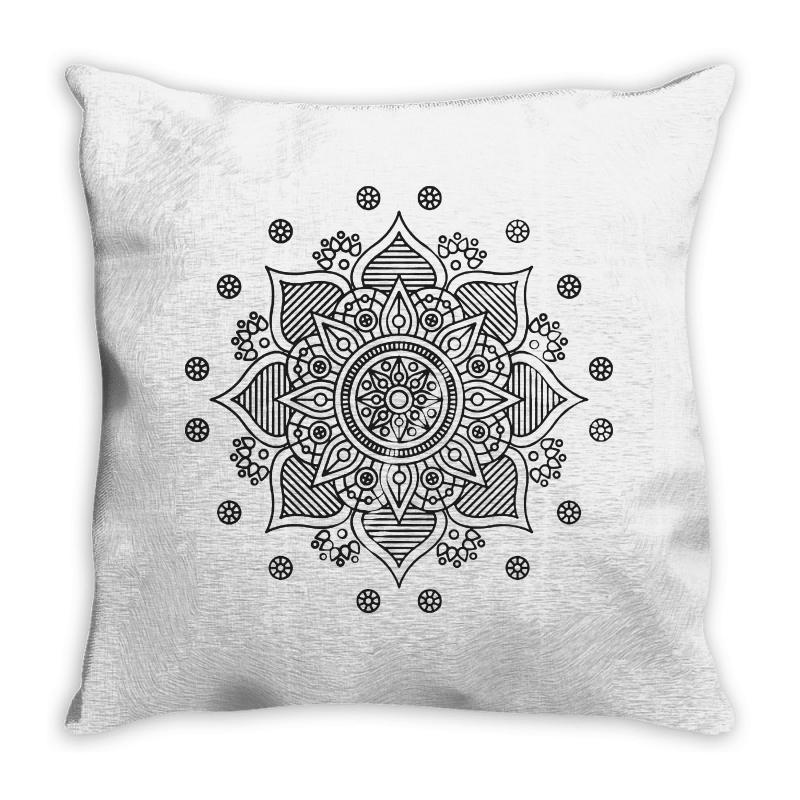 Mandala Throw Pillow | Artistshot