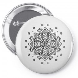 mandala Pin-back button | Artistshot