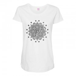 mandala Maternity Scoop Neck T-shirt | Artistshot