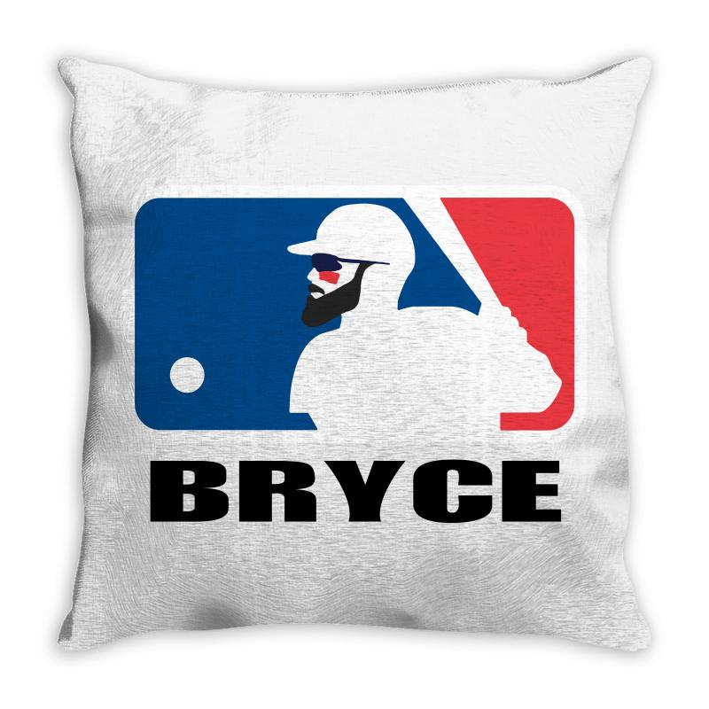 Bryce Harper Throw Pillow | Artistshot